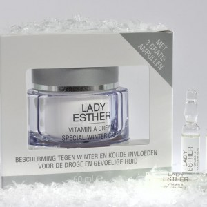 Vitamine A Winter Cream, met 3 gratis ampullen